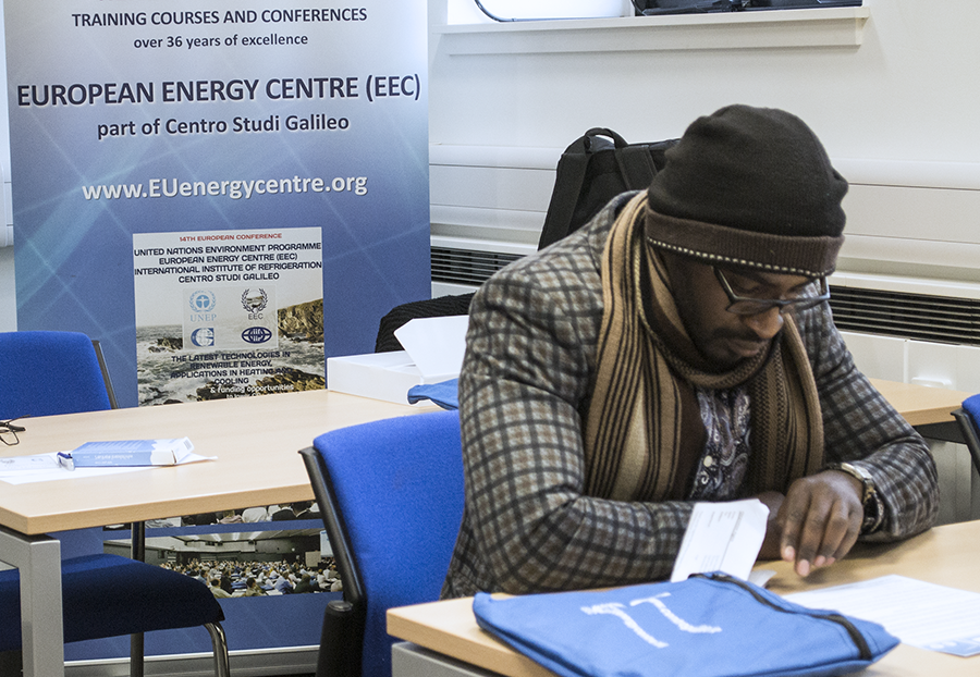 The EEC works with the United Nations (UNEP) and runs Green Energy courses across the UK and globally