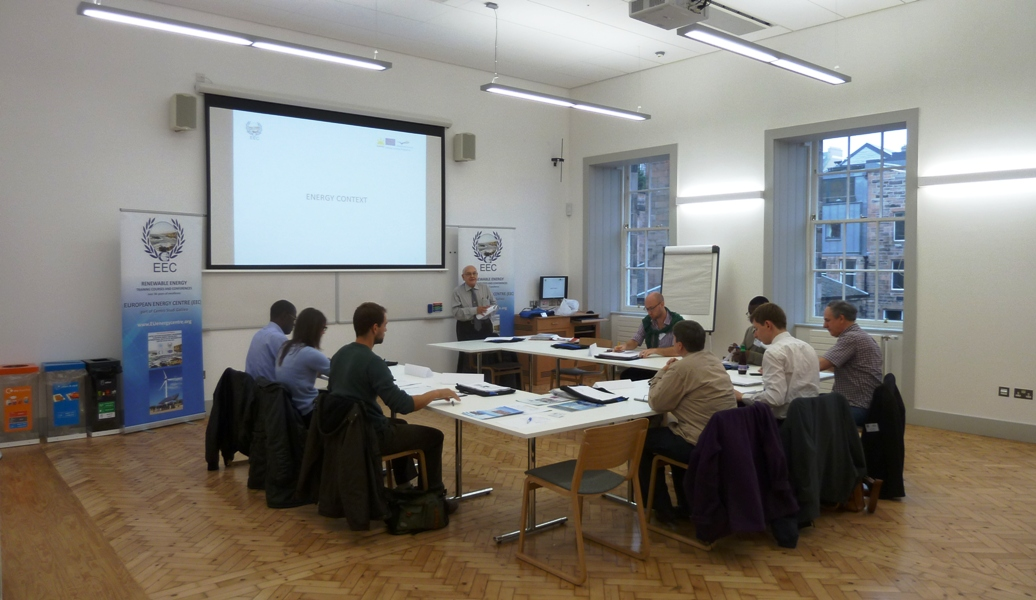 Energy & Resource Efficiency Course - offered in London, Edinburgh & other UK locations
